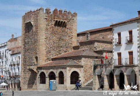 Plaza Mayr de Cáceres, Extremadura