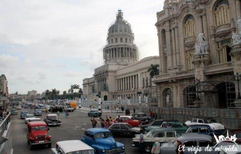Capitolio en la La Habana, Cuba