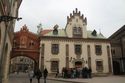 Centro de Cracovia en Polonia