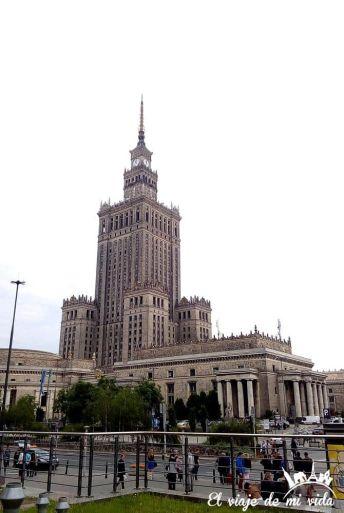 Palacio de la Cultura y las Ciencias en Varsovia, Polonia
