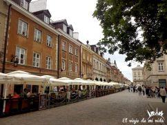 Paseo por Varsovia, Polonia