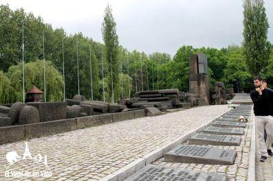 Memorial a los judíos de Auschwitz