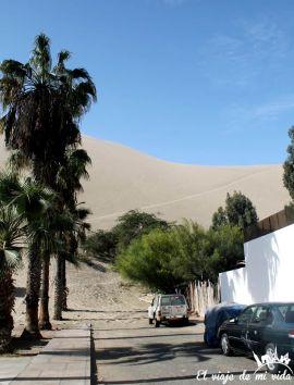 Calles de Huacachina