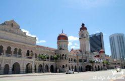Plaza de la Independencia en Kuala Lumpur