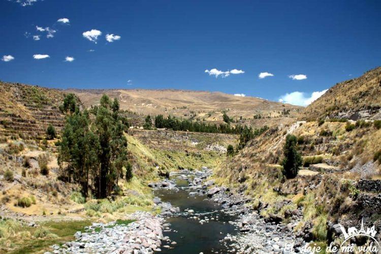 Valle del Colca en Perú
