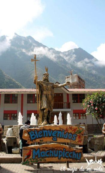 Pueblo de Machu Picchu, Aguas Calientes
