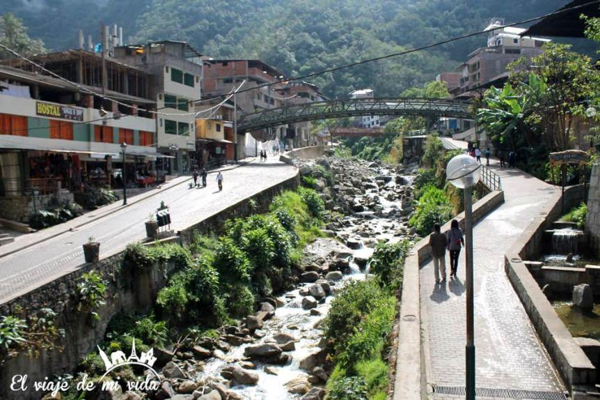 Aguas Calientes, Pueblo de Machu Picchu