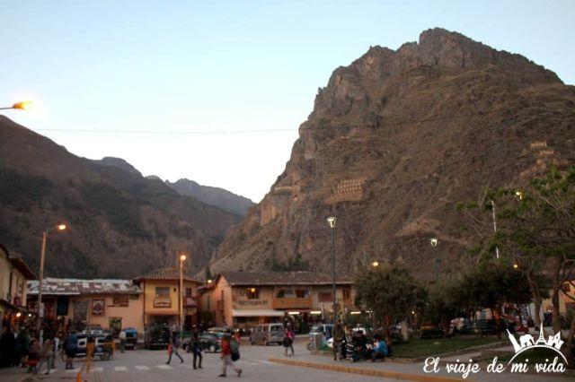 Atardecer en Ollataytambo, Perú