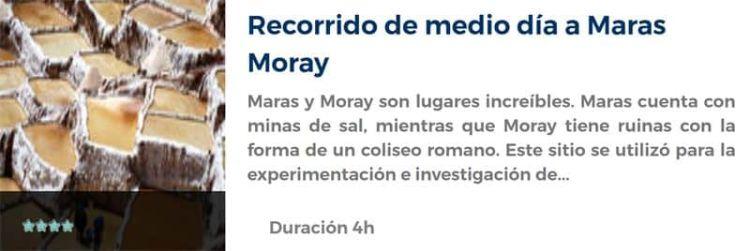Recorrido por las salineras de Maras y Moray
