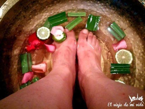 Experiencia en Cheeva Spa, Tailandia