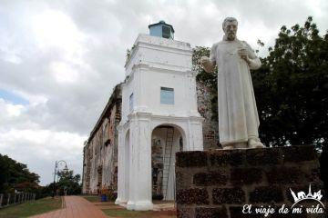 Iglesia de Saint Paul en Malaca, Malasia