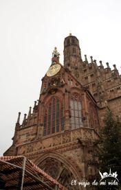 Plaza central de Nuremberg, Alemania