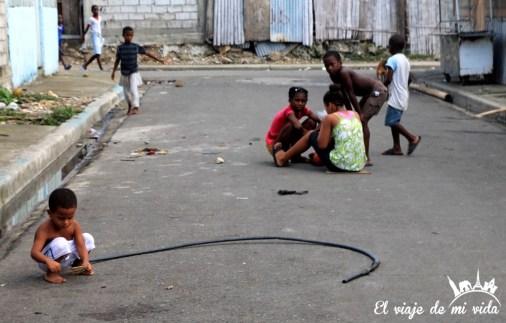 Barrio de Nigeria, en Guayaquil, Ecuador
