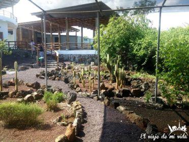 Centro Darwin en construcción en Galápagos