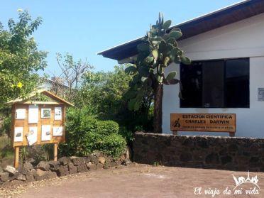 El Centro Darwin en Galápagos