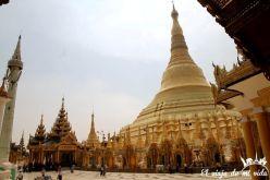 Estupas de Shwedagon, Rangún, Myanmar