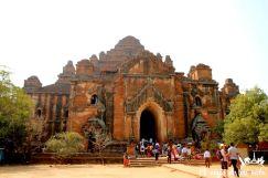 El templo de Dhammayan Gyi, Bagan, Myanmar
