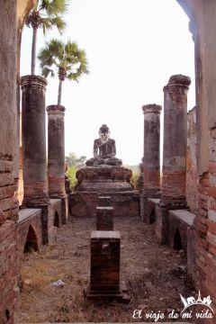Las ruinas de Inwa