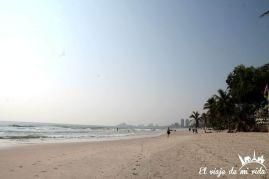 Playa de Hua Hin, Tailandia