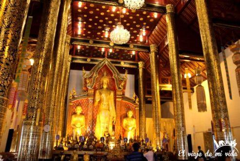 Wat Phra Singh en Chiang Mai, Tailandia