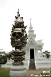 Algunos de los detalles extravagantes del Templo Blanco