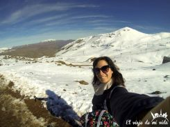 Los Andes nevados en Chile