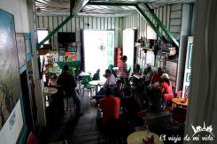 Cafetería tradicional de Salento, Colombia