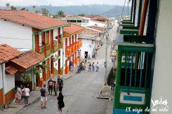 Las calles coloridas de Salento, Colombia