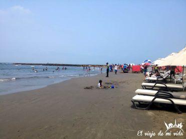 La playa de Bocagrande
