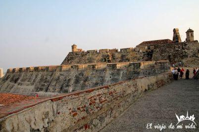 El castillo de San Felipe Cartagena de Indias, Colombia
