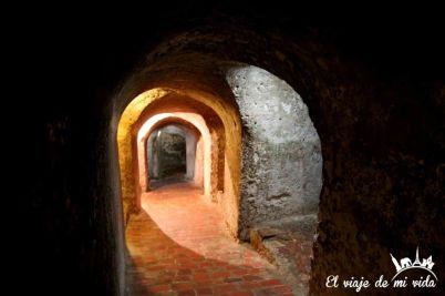 Túneles subterráneos del castillo de San Felipe, Cartagena de Indias, Colombia