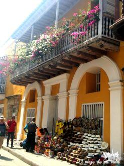 Centro histórico de Cartagena de India, Colombia