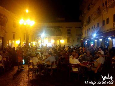 Cartagena de Indias de noche