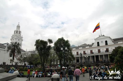 La Plaza de la Independencia, Quito, Ecuador