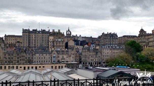 Vistas a la ciudad vieja desde la ciudad nueva