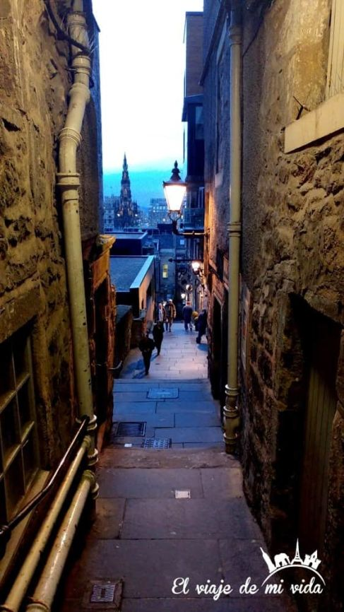 Los Closes de la Royal Mile