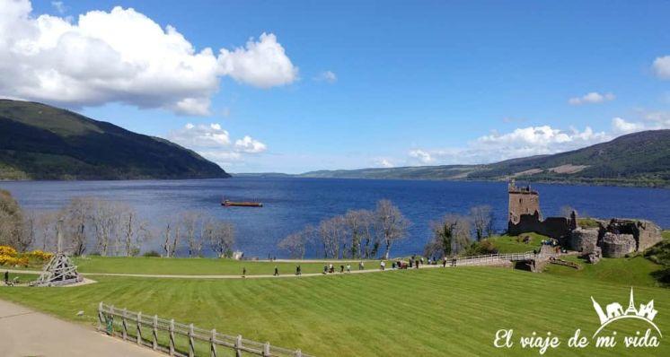 Lago Ness en Escocia