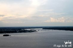 La Isla de Santay desde las Peñas en Guayaquil, Ecuador
