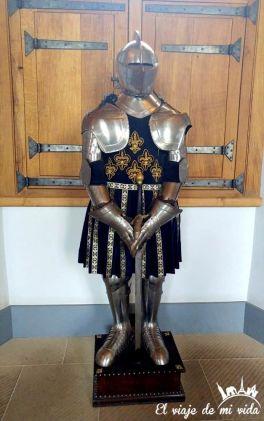 La supuesta armadura de María Estuardo en el Castillo de Stirling