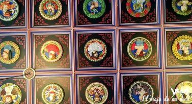 Los techos del Castillo de Stirling