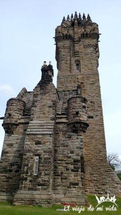 Monumento de William Wallace en Escocia