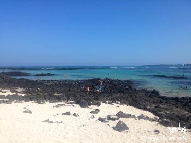 Playa Negra en Santa Cruz, Galápagos