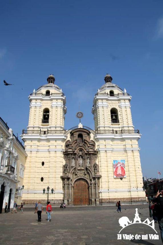 El Convento de Santiago Domingo en Lima, Perú