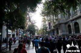 El centro de Santiago de Chile