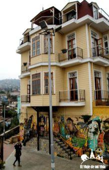 Arte callejero en Valparaíso