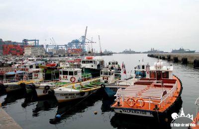 El puerto de Valparaíso