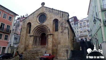 Iglesia románica en Coímbra