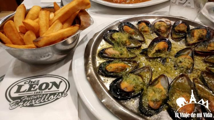 Moules-frites Chez Leon