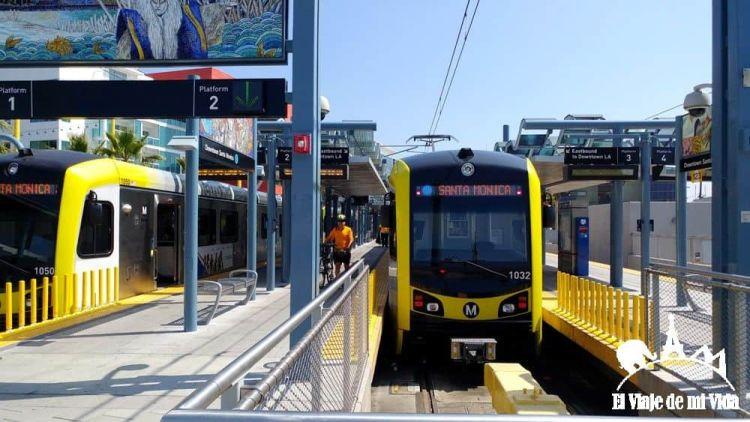 El metro de Los Ángeles