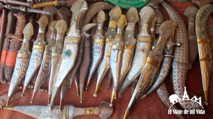 Cuchillos beduinos